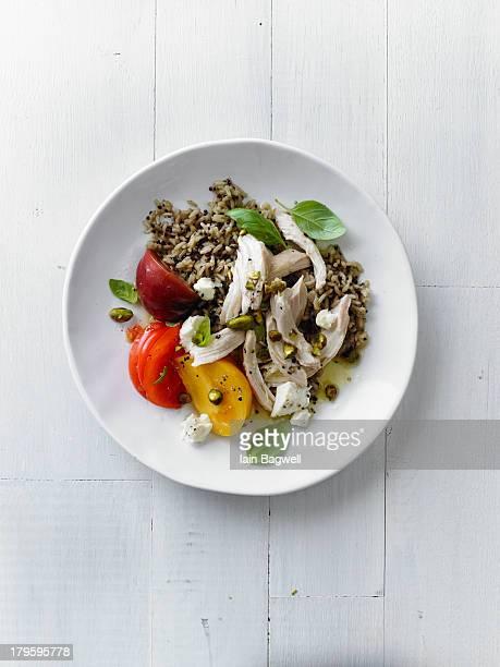 Chicken Salad With Orange-Pistachio VInaigrette