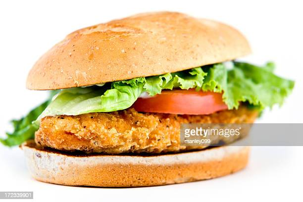Chicken Sandwich (shallow depth of field)