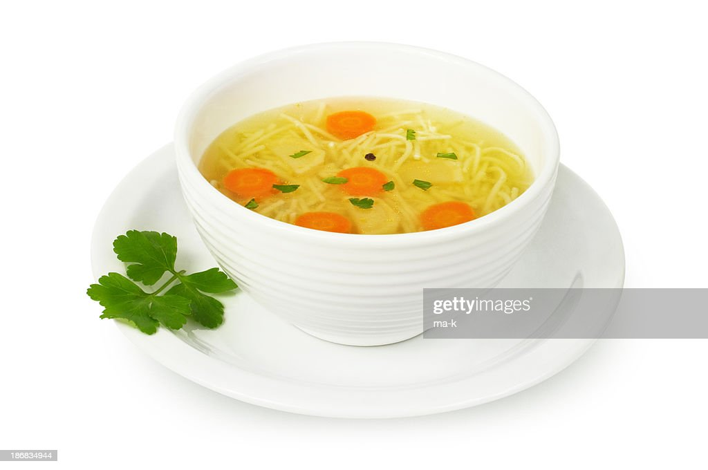 Chicken soup : Stock Photo