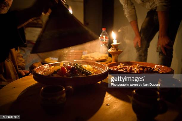 chicken tagine - moroccan culture stock photos and pictures