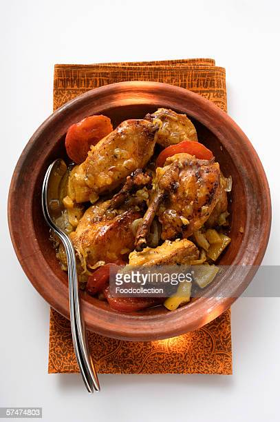 Chicken tajine with tomatoes (N. Africa)