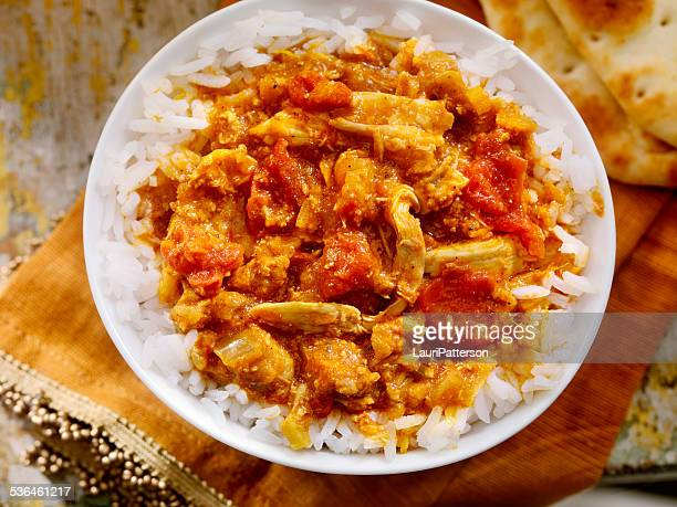 chicken tikka masala - butter chicken stock photos and pictures