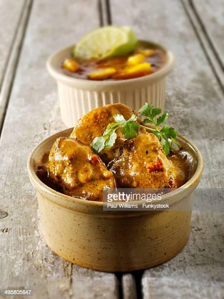 Chicken Vindaloo, traditional Bangladesh curry