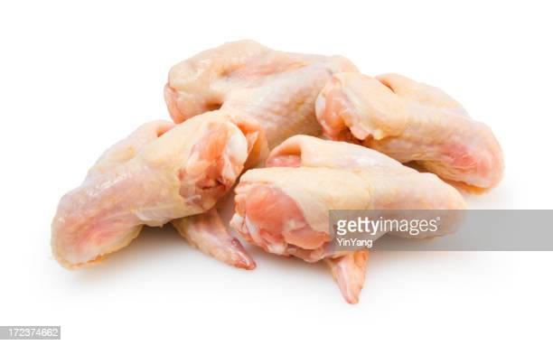 Chicken Wings Isolated on White