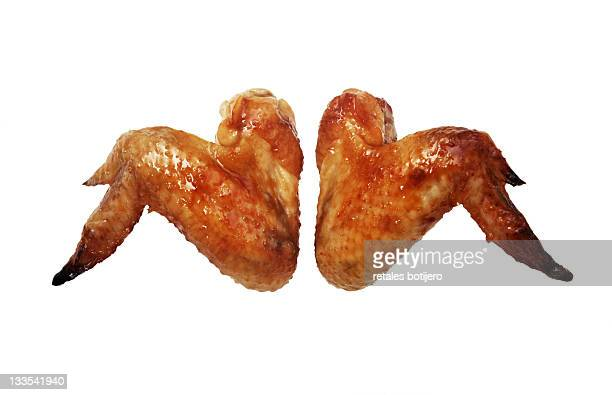 chicken wings - chicken wings stock pictures, royalty-free photos & images