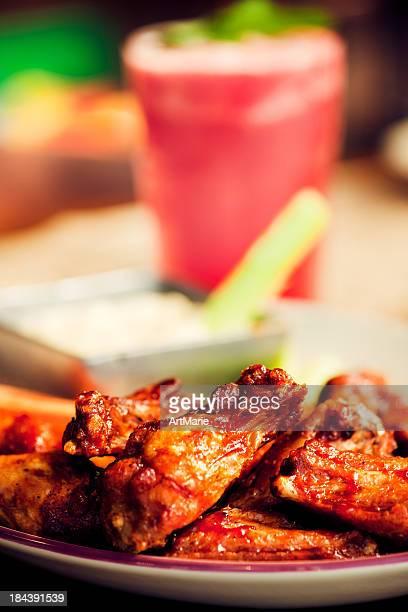 Ali di pollo BBQ