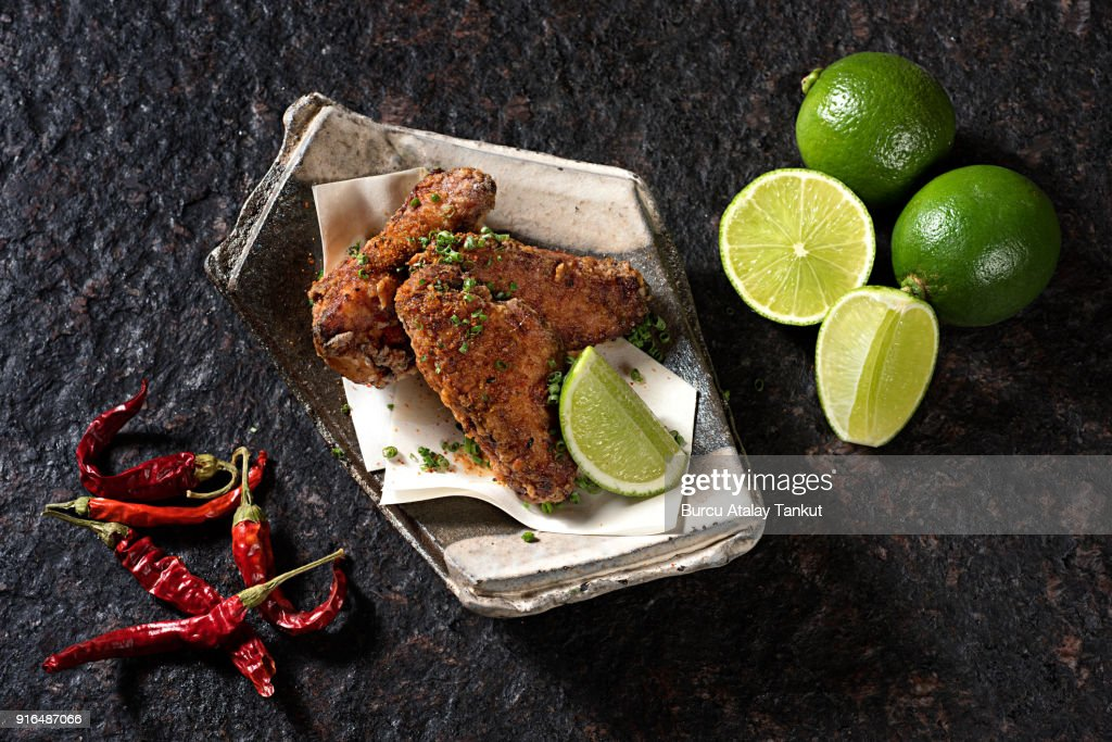Chicken Wings : Stock Photo