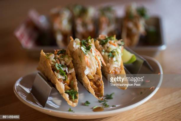 Chicken Wonton Tacos at Applebee's in Falls Church VA on November 29 2017