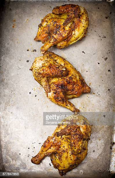 Chickens grill