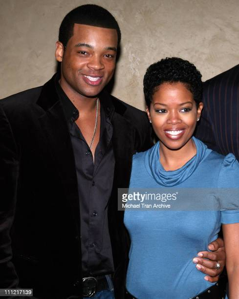 Chico Benymon and Malinda Williams during 16th Annual NAACP Theatre Awards Nominations - Press Conference at Hollywood Roosevelt Hotel in Hollywood,...
