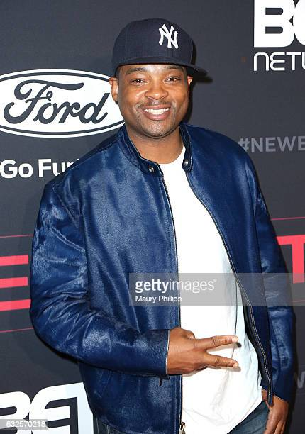 "Chico Benymon arrives at BET's ""The New Edition Story"" premiere screening on January 23, 2017 in Los Angeles, California."