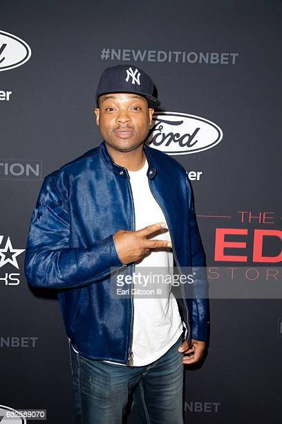 "Chico Benymon attends BET's ""The New Edition Story"" Premiere Screening on January 23, 2017 in Los Angeles, California."