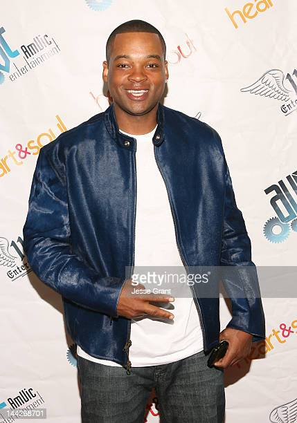Chico Benymon attends the Soul Ties Screening at the Charles Aidikoff Screening Room on May 12 2012 in Beverly Hills California