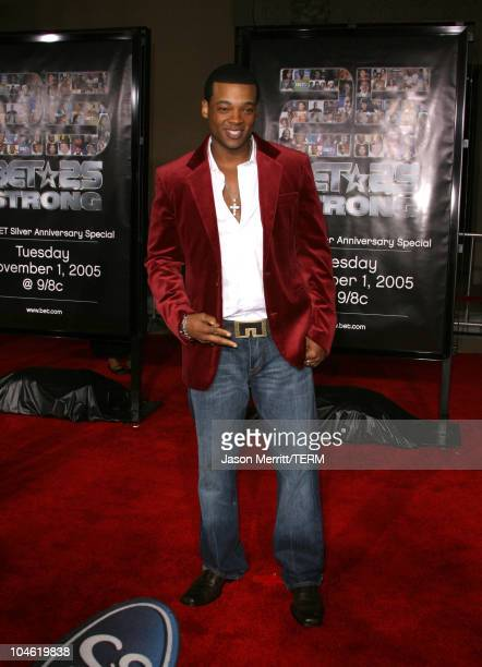 Chico Benymon during BET 25th Anniversary Show - Arrivals at Shrine Auditorium in Los Angeles, California, United States.
