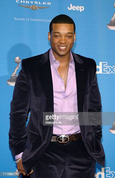 Chico Benymon during The 37th Annual NAACP Image Awards - Red Carpet at Shrine Auditorium in Los Angeles, California, United States.