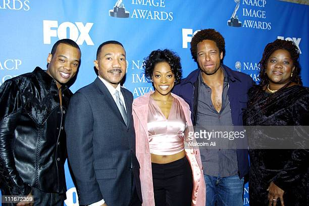 Chico Benymon, Kweisi Mfume, Kellita Smith, Gary Dourdan and Loretta Devine