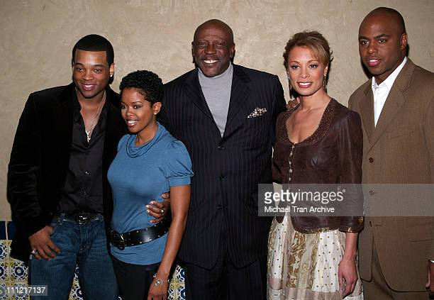 Chico Benymon, Malinda Williams, Louis Gossett Jr., Valarie Pettiford and Kevin Frazier