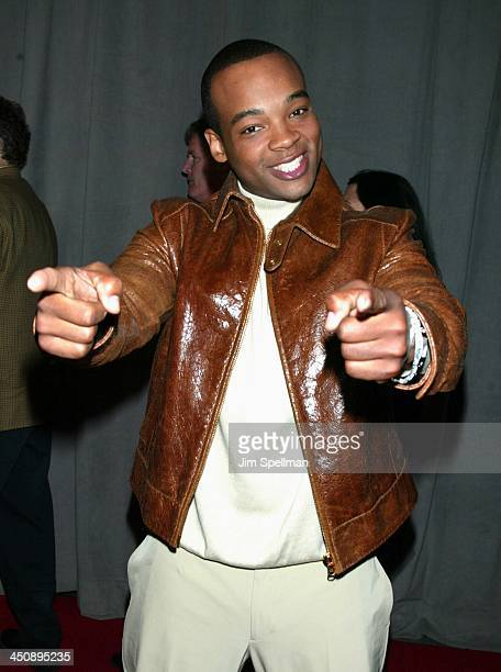 Chico Benymon of Half & Half during UPN 2002-2003 Prime Time Upfront Party at The Theater at Madison Square Garden in New York City, New York, United...