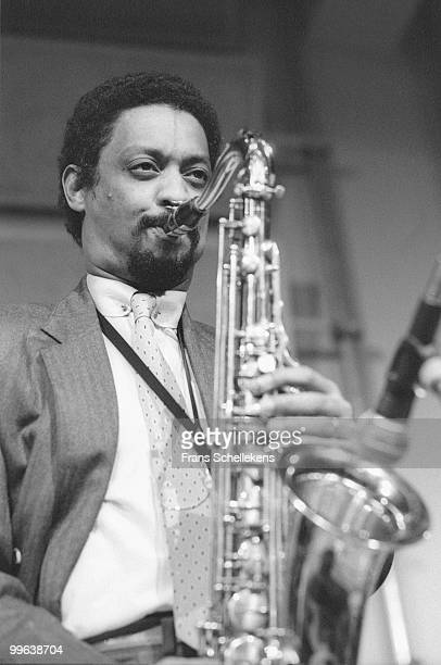 Chico Freeman performs live on stage at Bimhuis in Amsterdam, Netherlands on March 07 1985