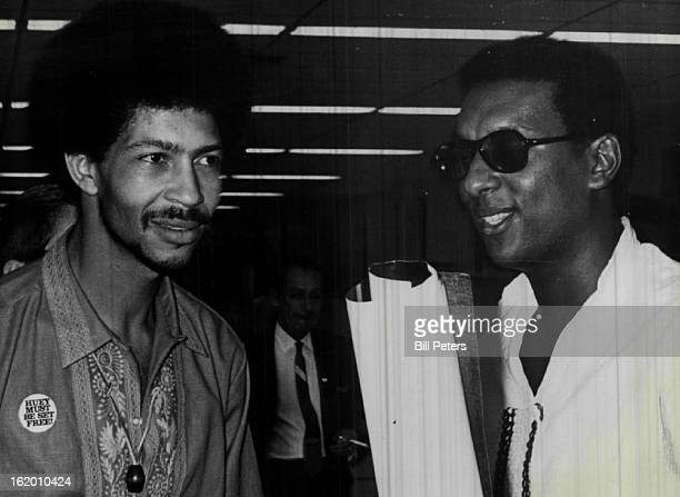 8/20/1968 Chico Neblett Black Panther Field Marshal Stokely Carmichael Black Panther Prime Minister