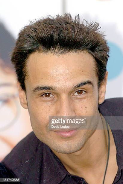 """Chico Slimani of """"The X Factor"""" during Great Ormond Street Hospital's Christmas Party - December 15, 2005 at Great Ormond Street Hospital in London,..."""