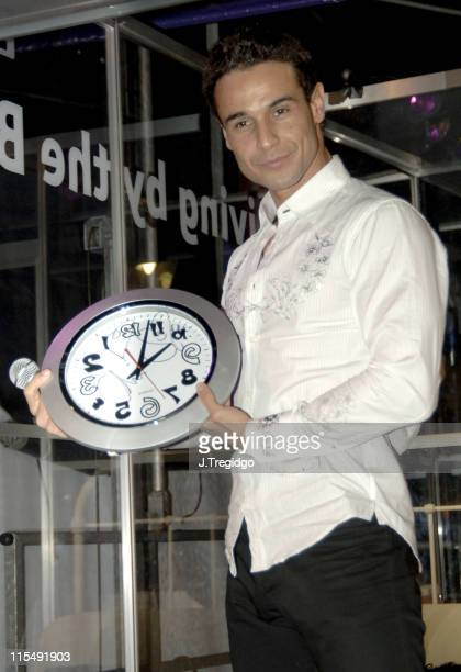 Chico Slimani of The X Factor during Living by the Book 2005 Charity Challenge at Covent Garden in London Final Day at East Piazza in London Great...