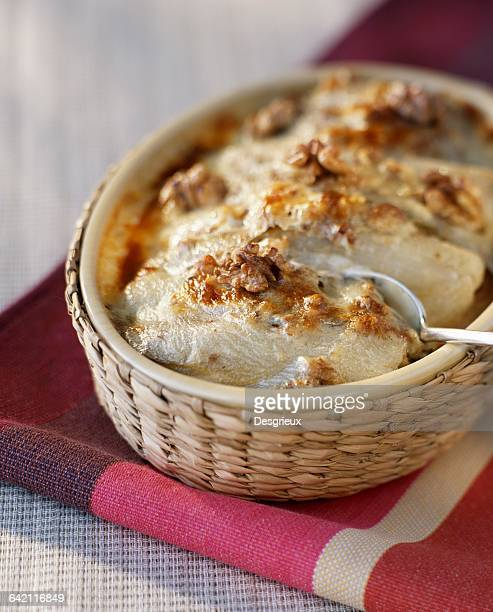 Chicory and Maroille gratin