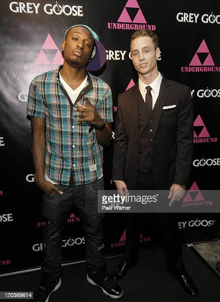Chiddy Bang and Chet Haze attend Lolla Wknd at The Underground on August 4 2011 in Chicago Illinois