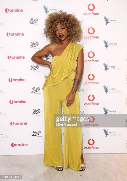 Chidera Eggerue attends the Woman Of The Year Awards Lunch at Royal Lancaster Hotel on October 14 2019 in London England