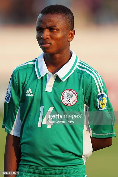 Chidiebere Nwakali of Nigeria during the FIFA U17 World Cup UAE 2013 Group F match between Nigeria and Iraq at Al Rashid Stadium on October 25 2013...