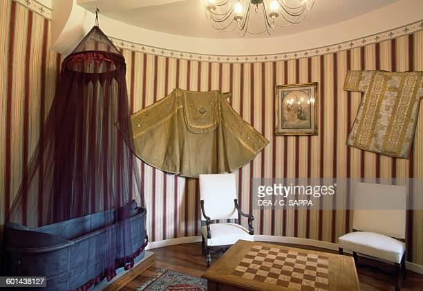 Chidren's bedroom Chateau d'Etchauz SaintEtiennedeBaigorry France Aquitaine 11th16th century