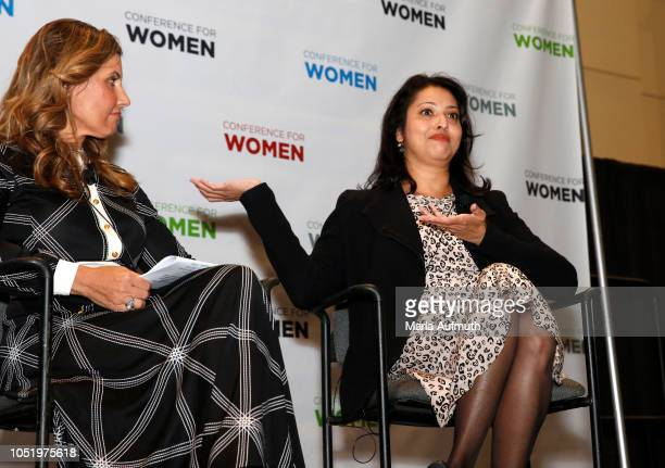 EVP Chief Administration Officer Beneficial Bank and Board Member Joanne Ryder and Principal ghSMART Company Shoma Chatterjee speak during Personal...