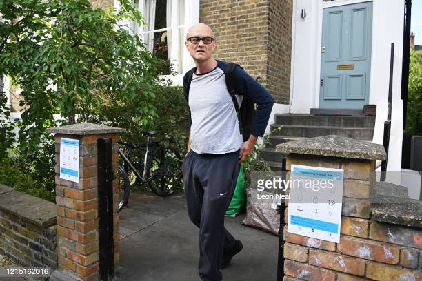 Chief Advisor to Prime Minister Boris Johnson Dominic Cummings leaves his home on May 26 2020 in London England On March 31st 2020 Downing Street...