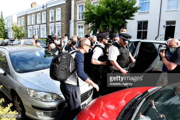 Chief Advisor to Prime Minister Boris Johnson, Dominic Cummings leaves his home on May 26, 2020 in London, England. On March 31st 2020 Downing Street...