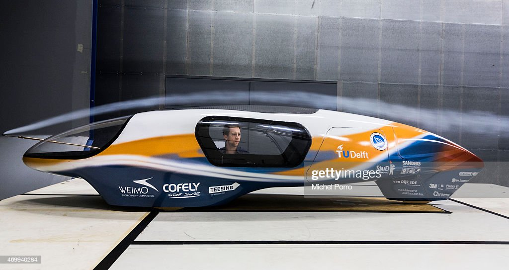 Dutch Students Create Car With Lowest Ever Drag Coefficient : News Photo