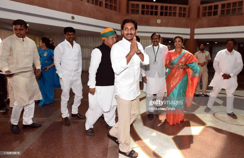 YSR chief and Chief Minister of Andhra Pradesh YS Jaganmohan