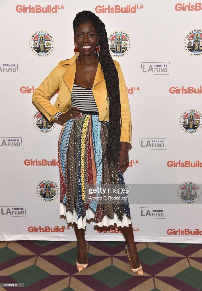 """LA Promise Fund's """"Girls Build Leadership Summit"""" : News Photo"""