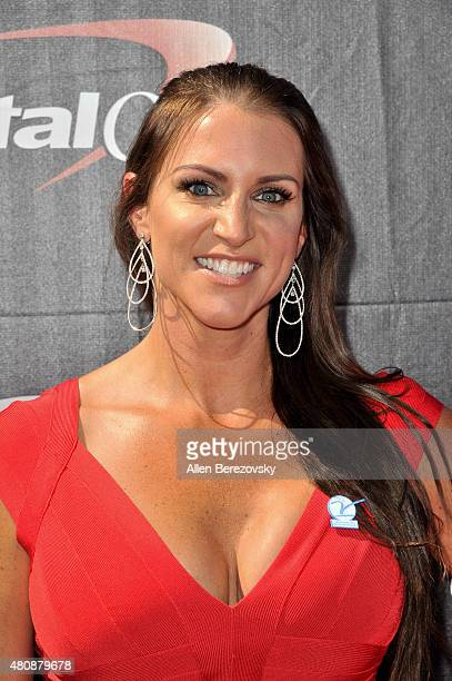 Chief Brand Officer of WWE Stephanie McMahon arrives at the 2015 ESPYS at Microsoft Theater on July 15 2015 in Los Angeles California