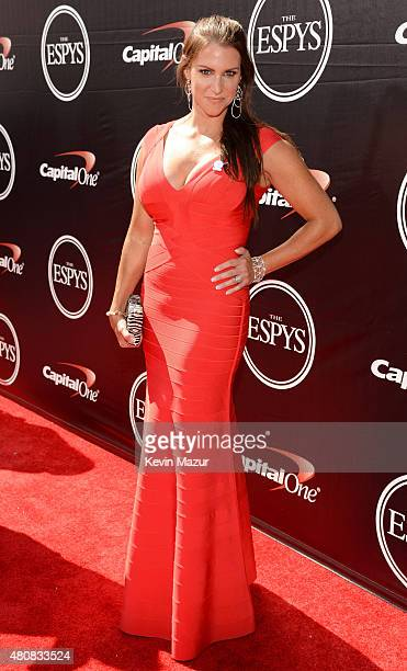 Chief Brand Officer of WWE Stephanie McMahon attends The 2015 ESPYS at Microsoft Theater on July 15 2015 in Los Angeles California