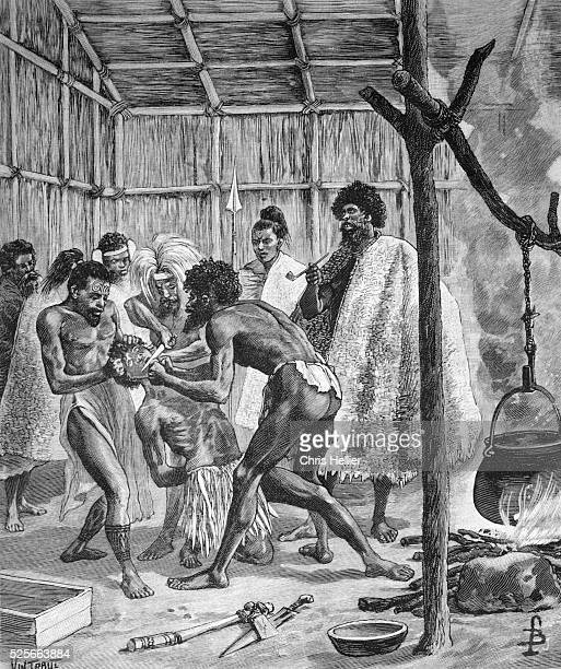 Chief Cakobau Cannibal King of Fiji
