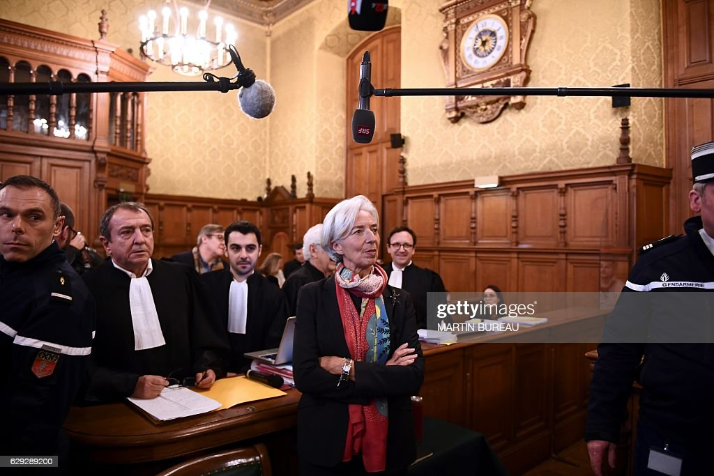 FRANCE-IMF-TRIAL-LAGARDE : News Photo