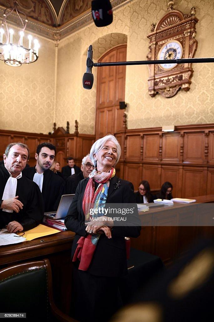 FRANCE-IMF-TRIAL-LAGARDE : Nachrichtenfoto