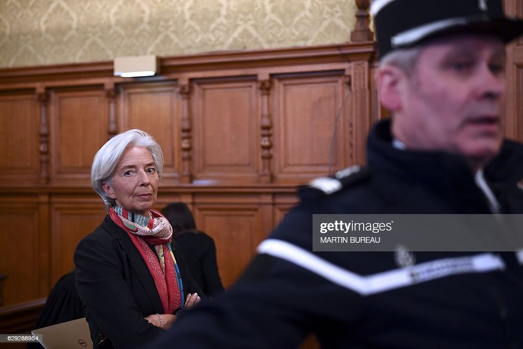IMF Managing Director Christine Lagarde On Trial For Alleged Negligence