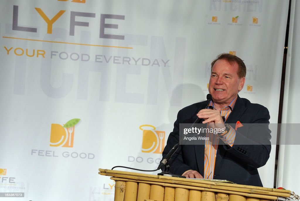 Chief communications officer for LYFE Kitchen Mike Donahue ...