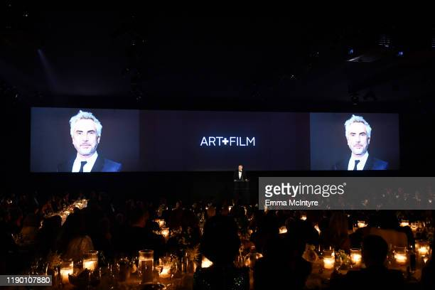 Chief Content Officer at Netflix Ted Sarandos speaks onstage during the 2019 LACMA Art Film Gala Presented By Gucci at LACMA on November 02 2019 in...