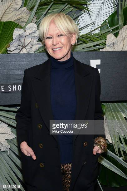 Chief Content Officer Cosmopolitan E's So Cosmo Joanna Coles attend ELLE E and IMG New York Fashion Week February 2017 KickOff Event on February 8...