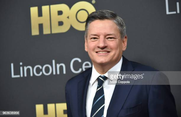 Chief content officer for Netflix Ted Sarandos attends Lincoln Center's American Songbook Gala at Alice Tully Hall on May 29 2018 in New York City