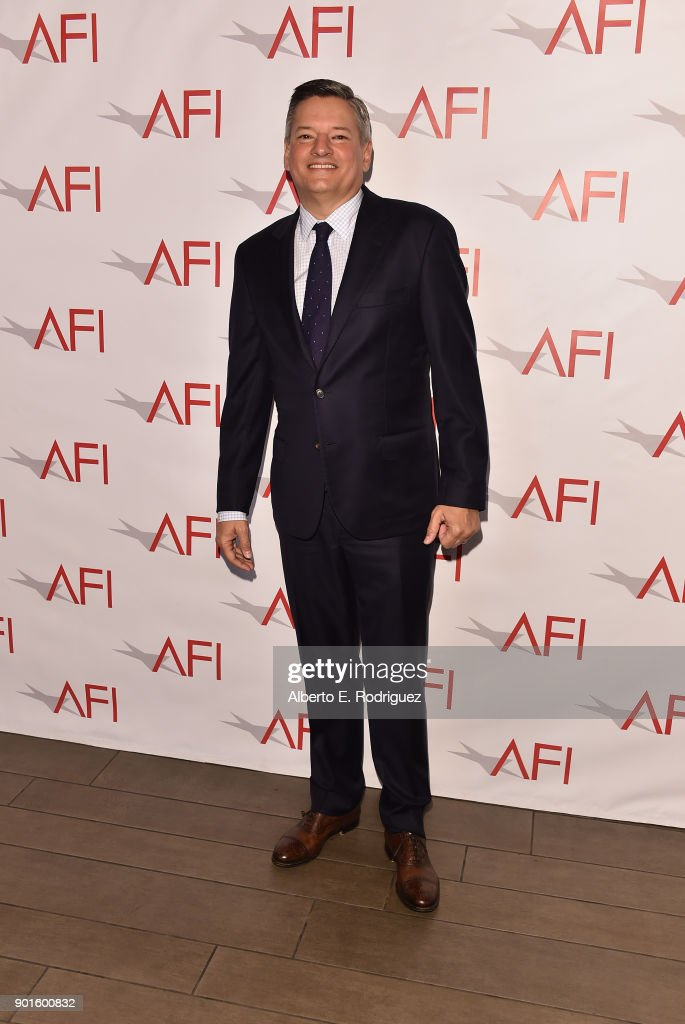 Chief Content Officer for Netflix Ted Sarandos attends the 18th Annual AFI Awards at Four Seasons Hotel Los Angeles at Beverly Hills on January 5, 2018 in Los Angeles, California.
