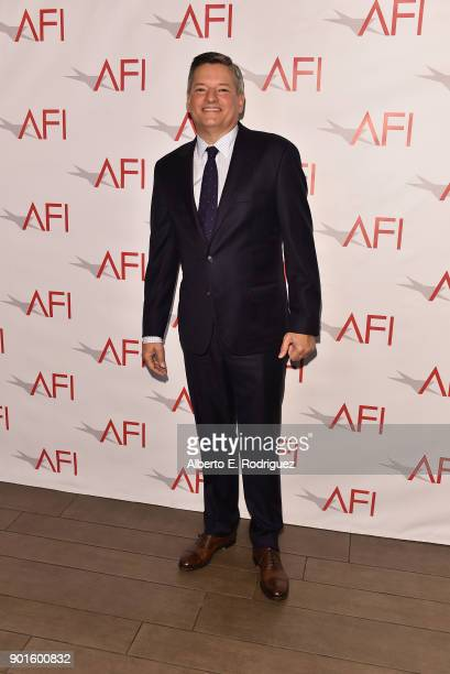 Chief Content Officer for Netflix Ted Sarandos attends the 18th Annual AFI Awards at Four Seasons Hotel Los Angeles at Beverly Hills on January 5...