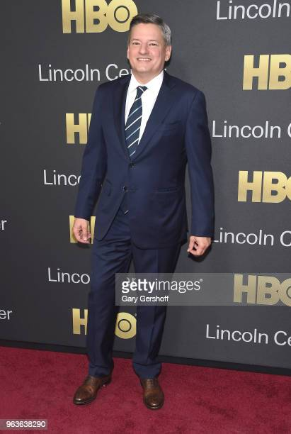 Chief Content Officer for Netflix Ted Sarandos attends the 2018 Lincoln Center American Songbook gala honoring HBO's Richard Plepler at Alice Tully...